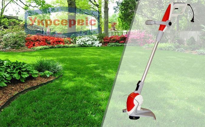 Купить выгодно садовый сетевой триммер для травы Flexo Trim RT 1525 DA