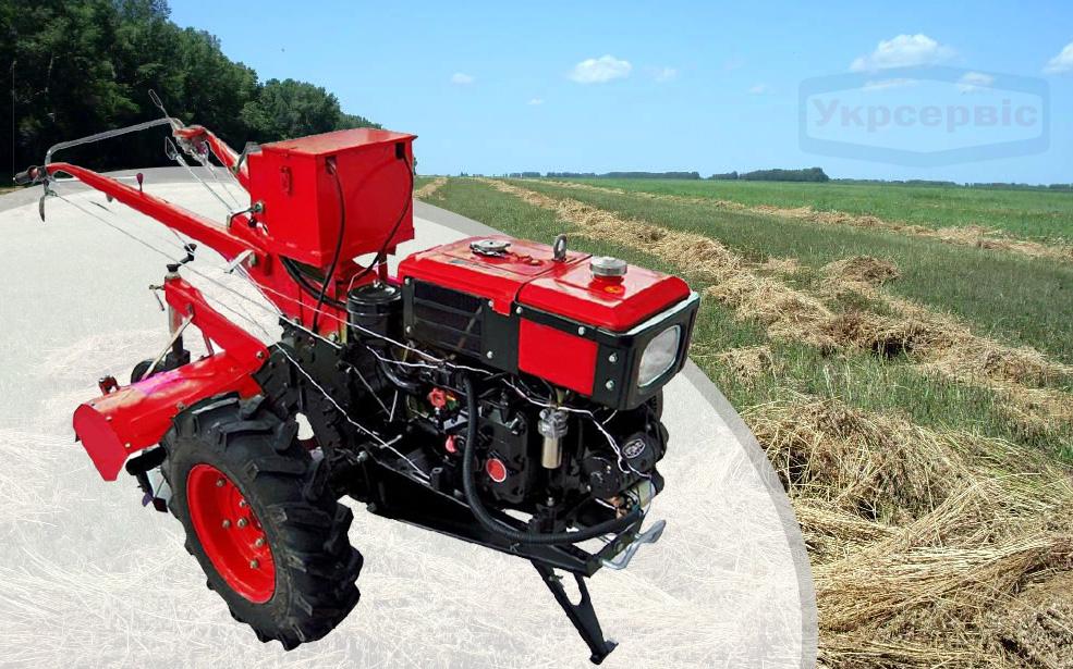 Купить недорогой дизельный мотоблок для огорода Forte SH 81E PLUS
