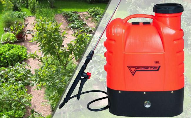 Купити недорого акумуляторний обприскувач для будинку або саду Forte CL-16A