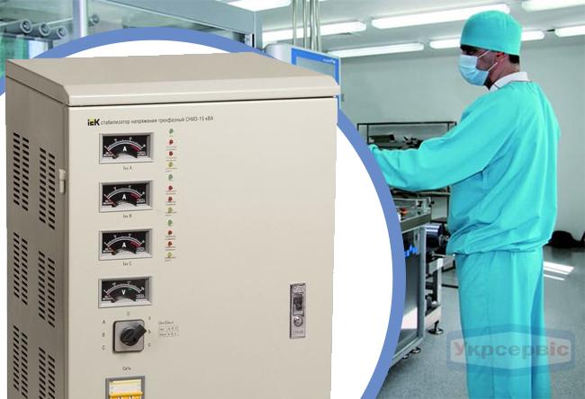 Купить недорогой стабилизатор напряжения IEK IVS10-3-15000