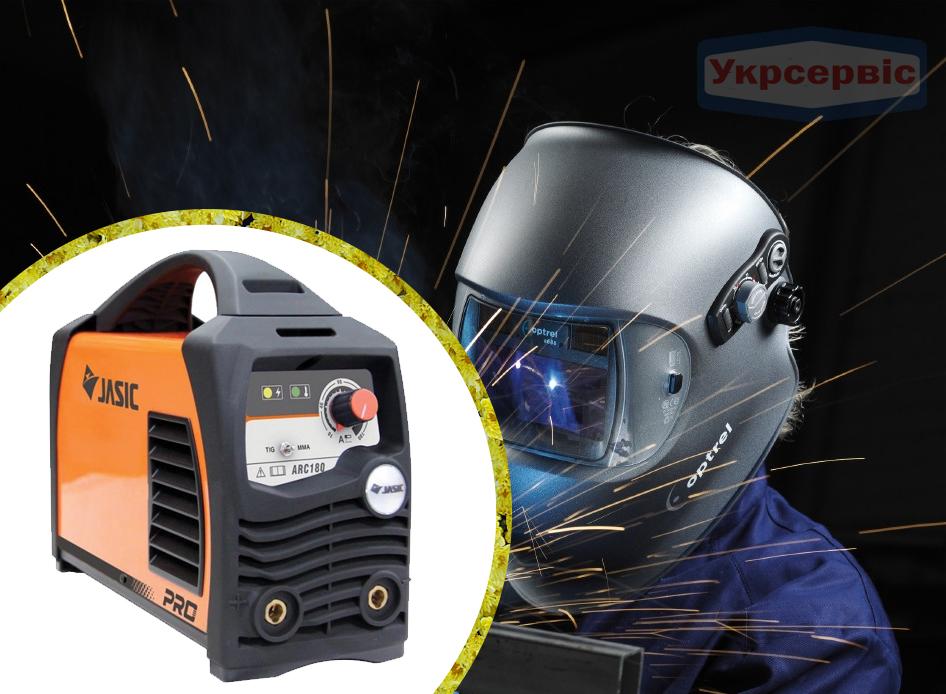 Купить сварочный инвертор Jasic ARС-180 PRO