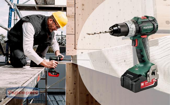 Купити недорогий електричний шурупокрут Metabo BS 18 LT BL для дому