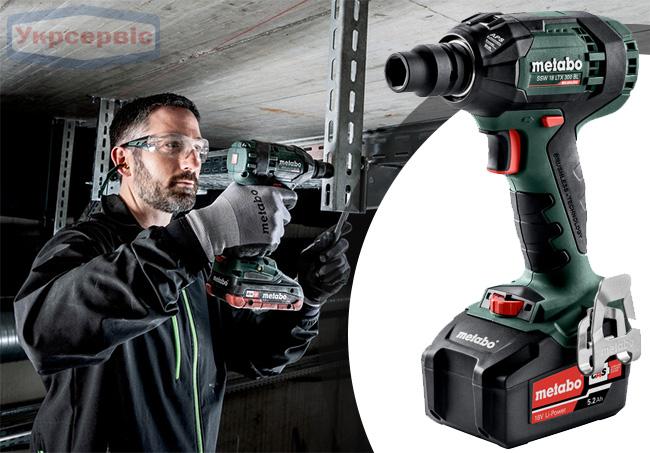 Купить недорого гайковерт Metabo SSW 18 LTX 300 BL в Украине