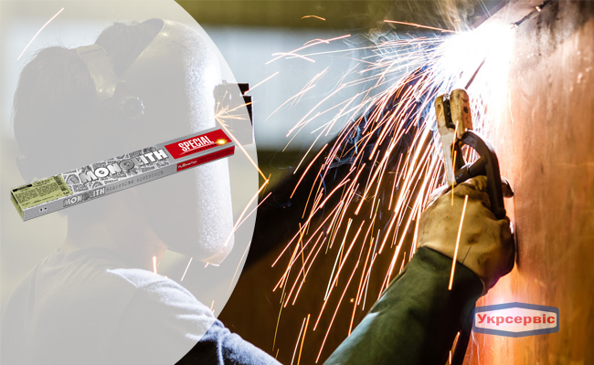 Купить недорого электроды SPECIAL Т-590, 450 мм, 4 мм
