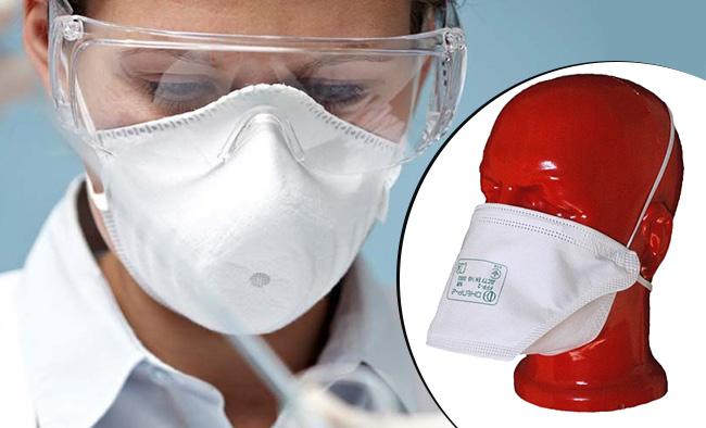 Купить недорого респиратор Trident Днепр-2 FFP2 для защиты дыхания