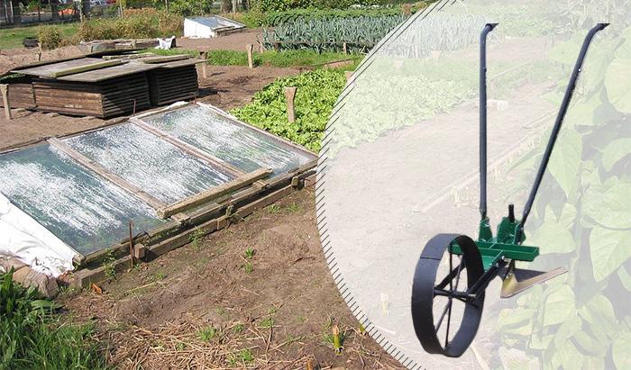 Купить недорогой ручной культиватор для огорода Землероб 5 в 1