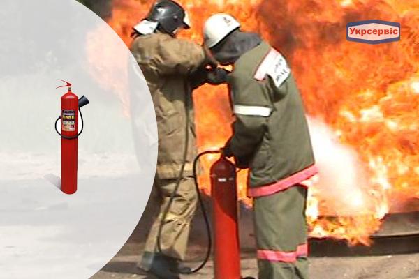 Купить углекислотный огнетушитель Пожтехника ОУ-7