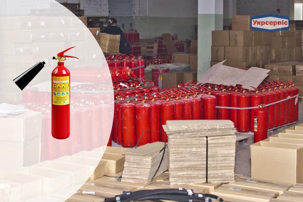 Купить углекислотный огнетушитель Пожтехника ОУ-2