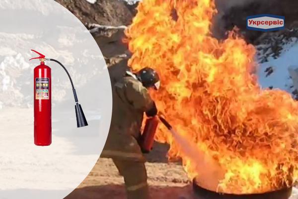 Купить углекислотный огнетушитель Пожтехника ОУ-5