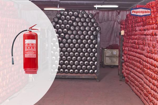 Купить порошковый огнетушитель Пожтехника ОП-9