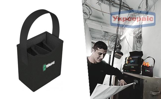 Купить недорогую наплечную сумку для инструментов Wera 2go 4 Tool Quiver