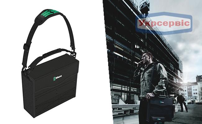 Купить недорогую наплечную сумку для инструментов Wera 2go 2 Tool Container