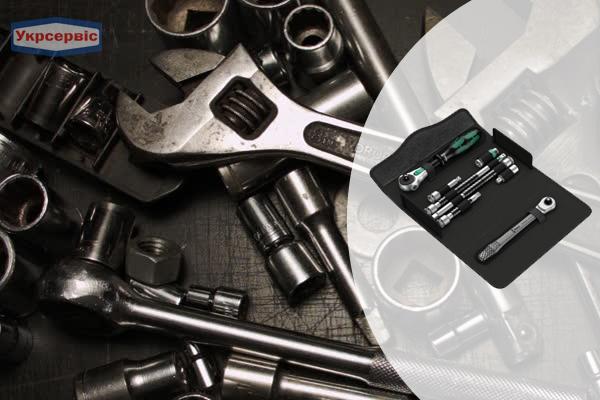 Купить недорого набор трещоток Wera Kraftform Kompakt Zyklop MS1
