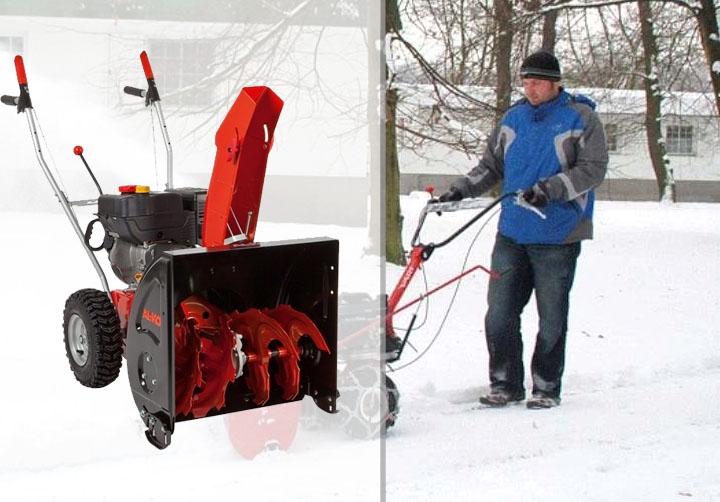 Купить недорогой снегоуборщик в Украине