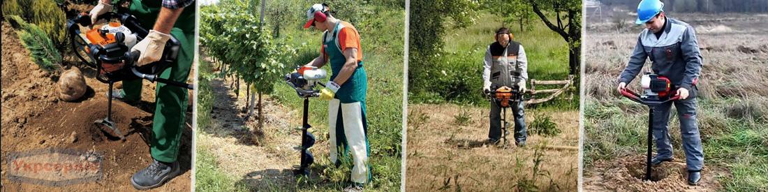 Купить недорогой бензиновый мотобур для сада