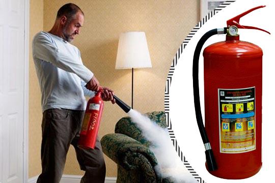 Купить недорого огнетушитель для дома