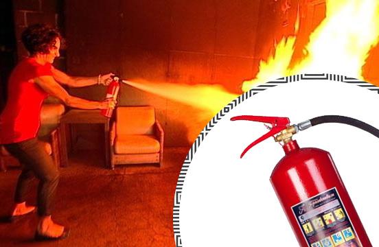 Купить выгодно огнетушитель для офиса