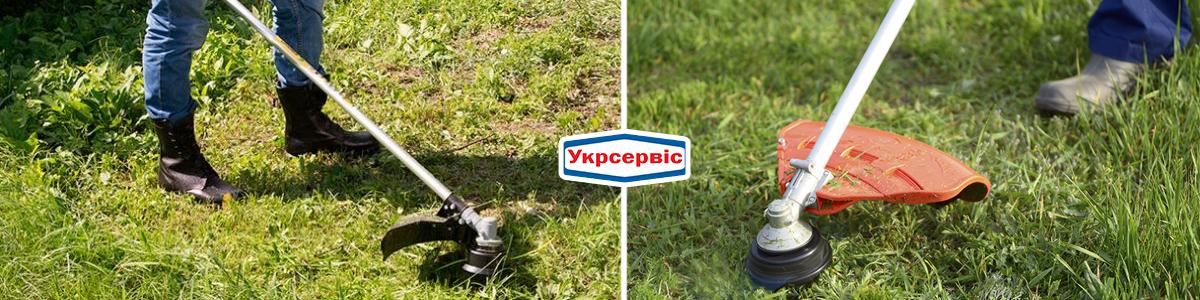 Как косить траву мотокосой