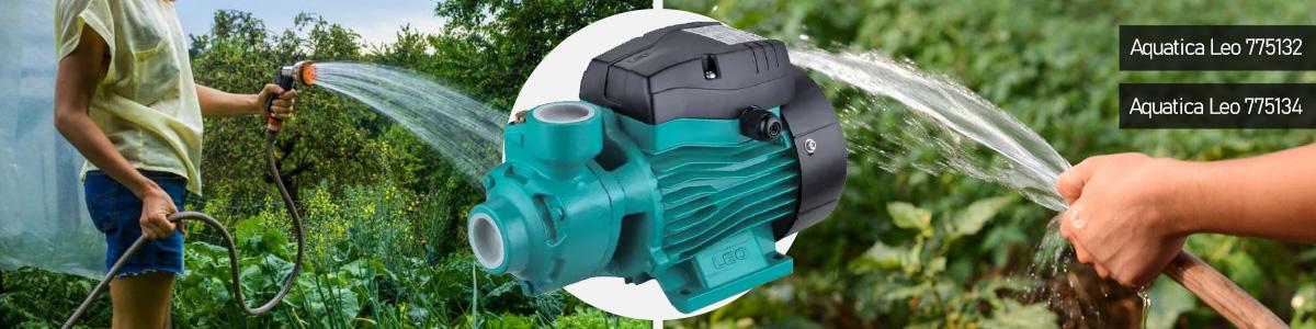 Как выбрать поверхностный насос для полива: Вихревой и центробежный типы