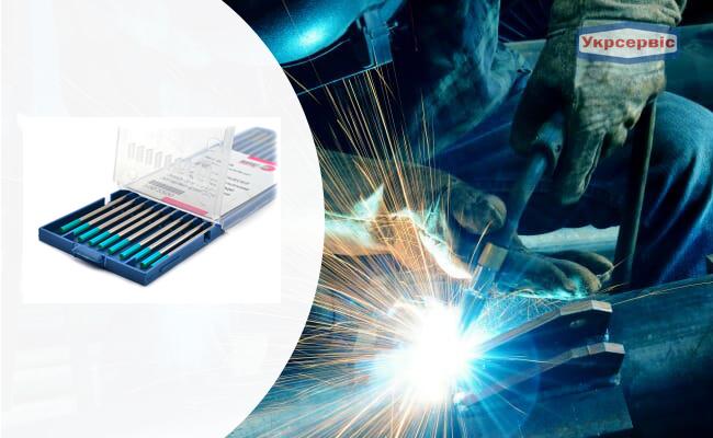 Купить недорого электроды Binzel WR2, 2.4 мм