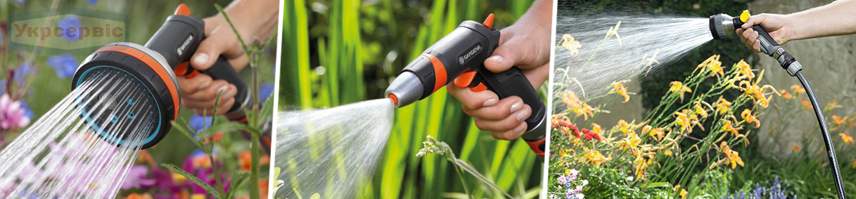 Купить недорого садовый пистолет на шланг для полива