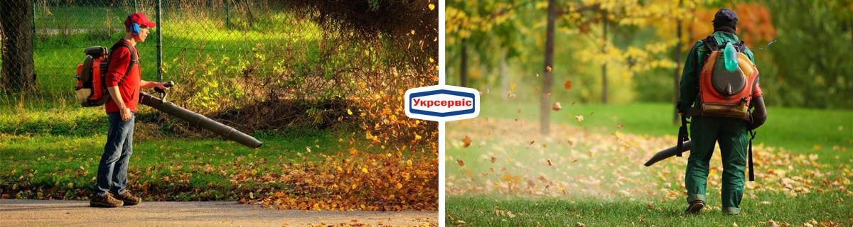 Купить воздуходув для уборки листьев