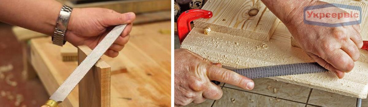Купить недорого напильник или рашпиль для обработки дерева