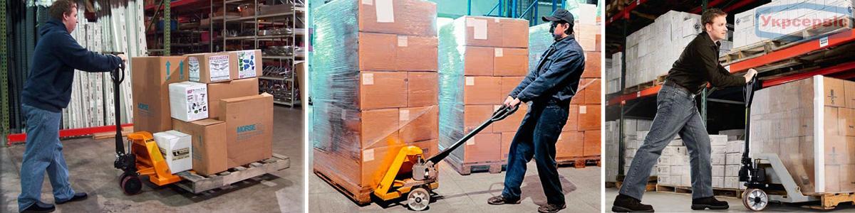 Цены на гидравлические тележки Metier для склада