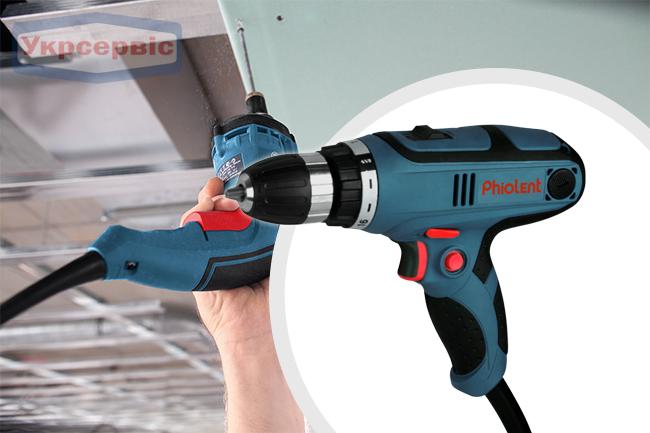 Купить недорогой электрический шуруповерт Phiolent ДШС-2-3 для дома