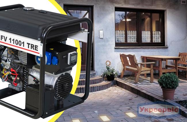 Купить недорого бензиновый генератор FOGO FV 11001 TRE