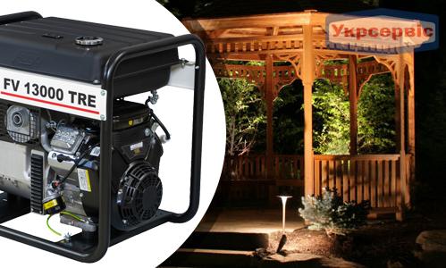 Купить генератор FOGO FV 13000 TRE для дома