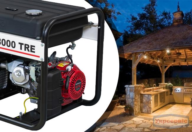 Купить генератор FOGO FH 8000 TRE для дома