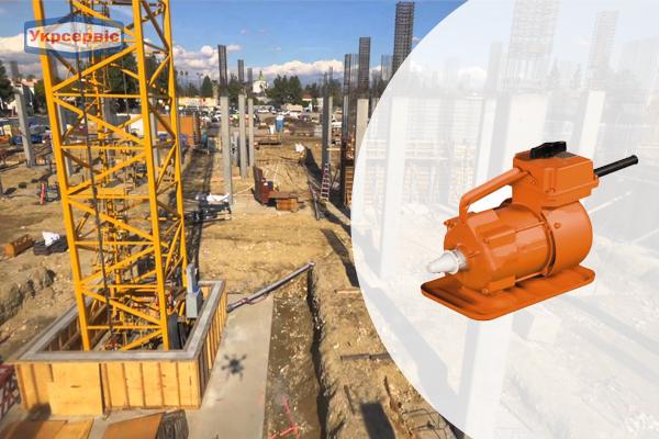 Купить недорого глубинный вибратор для уплотнения бетона Красный Маяк ЭПК-1300