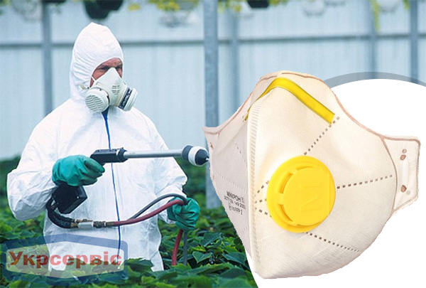 Купить недорого респиратор Mikrofiltr МІКРОН-2ПК FFP2 для защиты дыхания