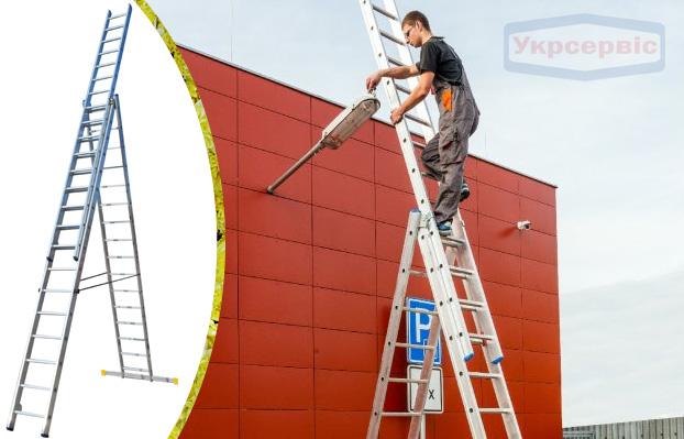 Купить недорого лестницу для дома Elkop VHR Profi 3x16