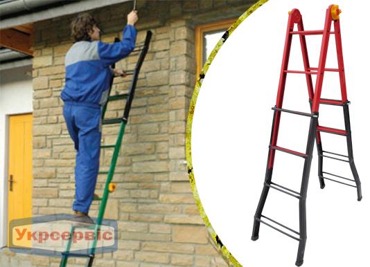 Купить выгодно шарнирную лестницу Elkop B 44