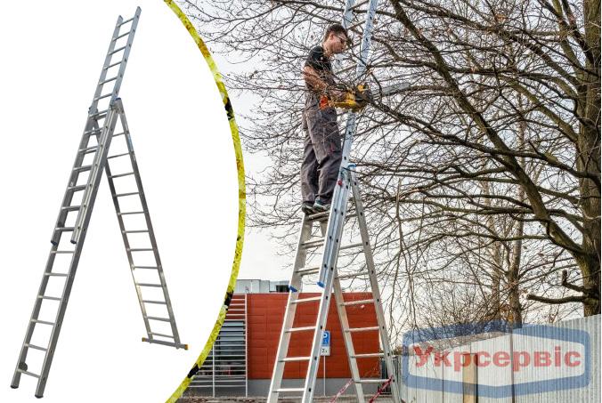 Купить недорого лестницу для дома Elkop VHR Profi 3x13