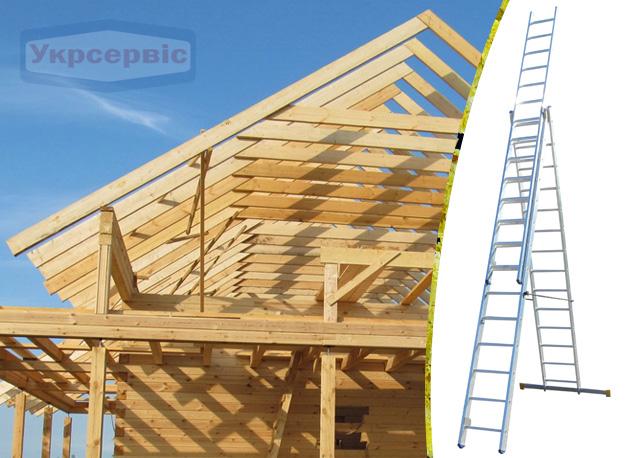 Купить недорого лестницу для дома Elkop VHR Profi 3x14