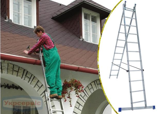 Купить недорого лестницу для дома Elkop VHR Hobby 2x11