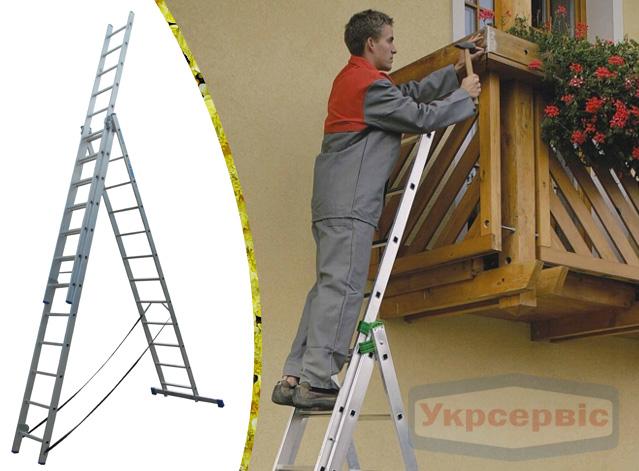 Купить недорого лестницу для дома Elkop VHR Hobby 3x12