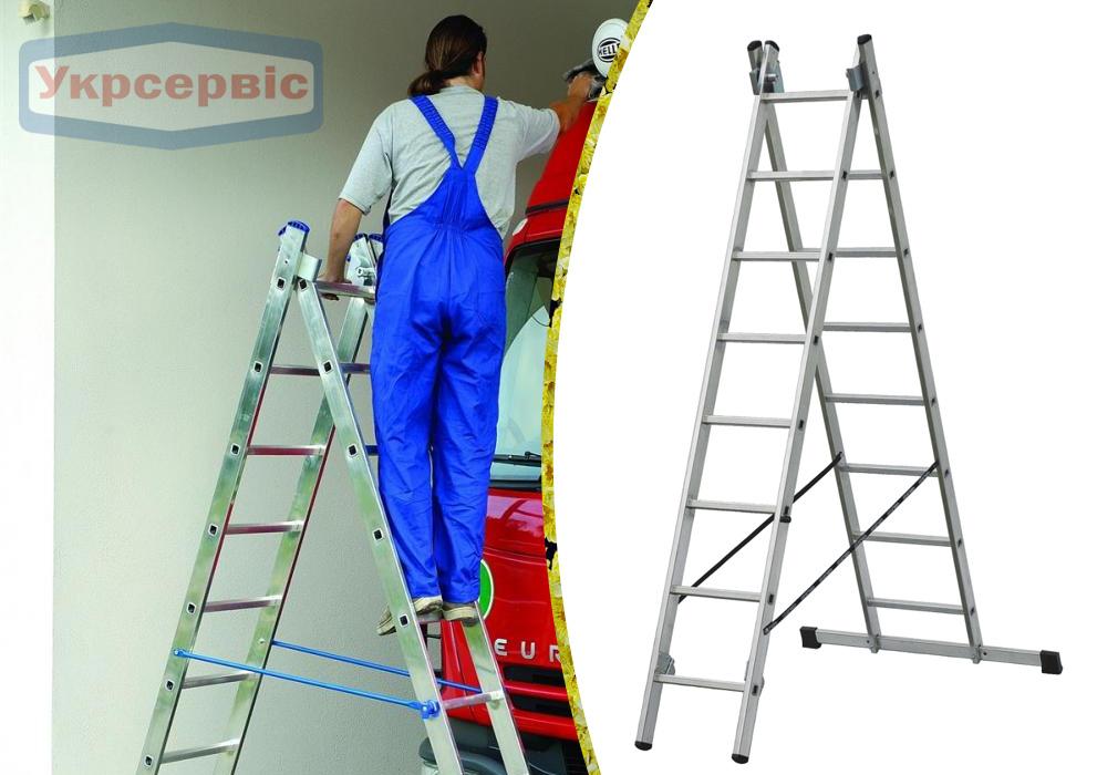 Купить недорого лестницу для дома Elkop VHR Trend 2x8