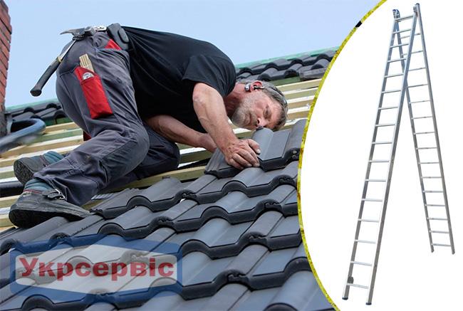Купить недорого лестницу для дома Elkop VHR Profi 2x16