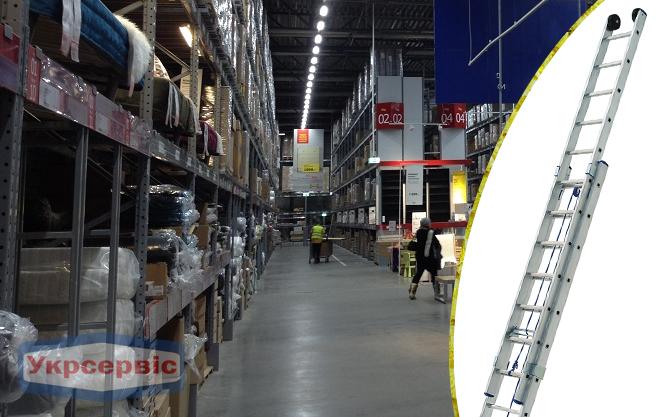 Купить недорого лестницу для дома Elkop VHR L 2x16
