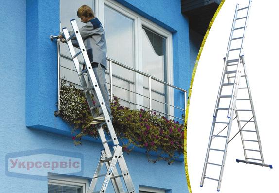 Купить недорого лестницу для дома Elkop VHR Hobby 3x10