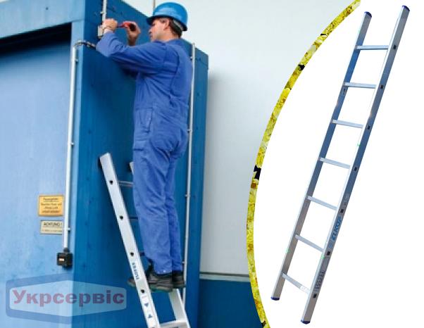 Купить недорого приставную лестницу для дачи Elkop VHR Hobby 1x7