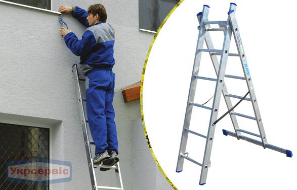 Купить недорого лестницу для дома Elkop VHR Hobby 2x6