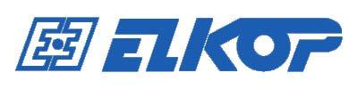 Официальный логотип словацкой компании Elkop