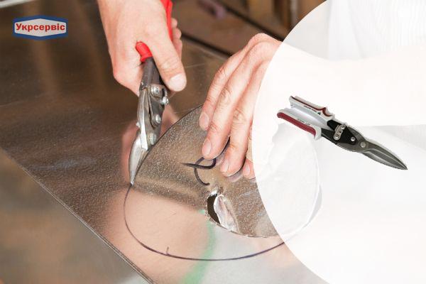 Купить недорого ножницы по металлу GrandTool 440025