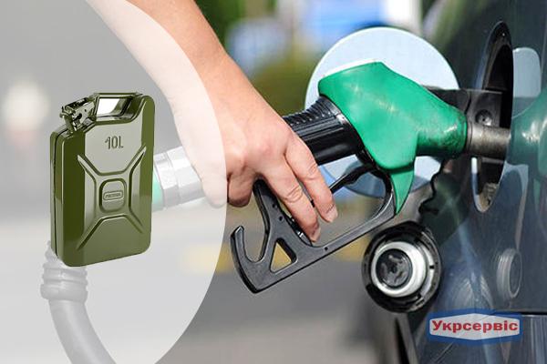 Купить недорого канистру для топлива GrandTool на 10 литров