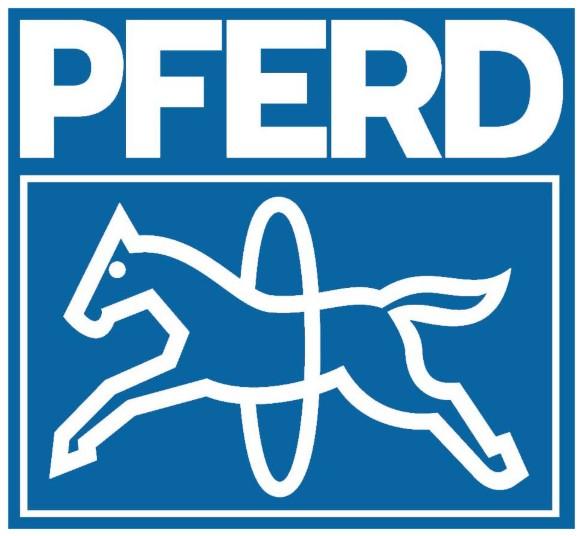 Официальный логотип компании Pferd